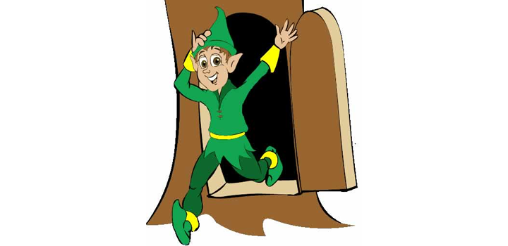 elf overcoming his mental blocks when learning the times tables